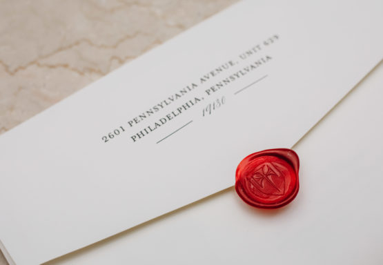 Wedding, Invitation, Envelope, Wax seal